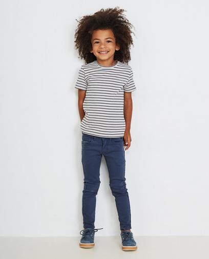 Petrolblaue Jeans